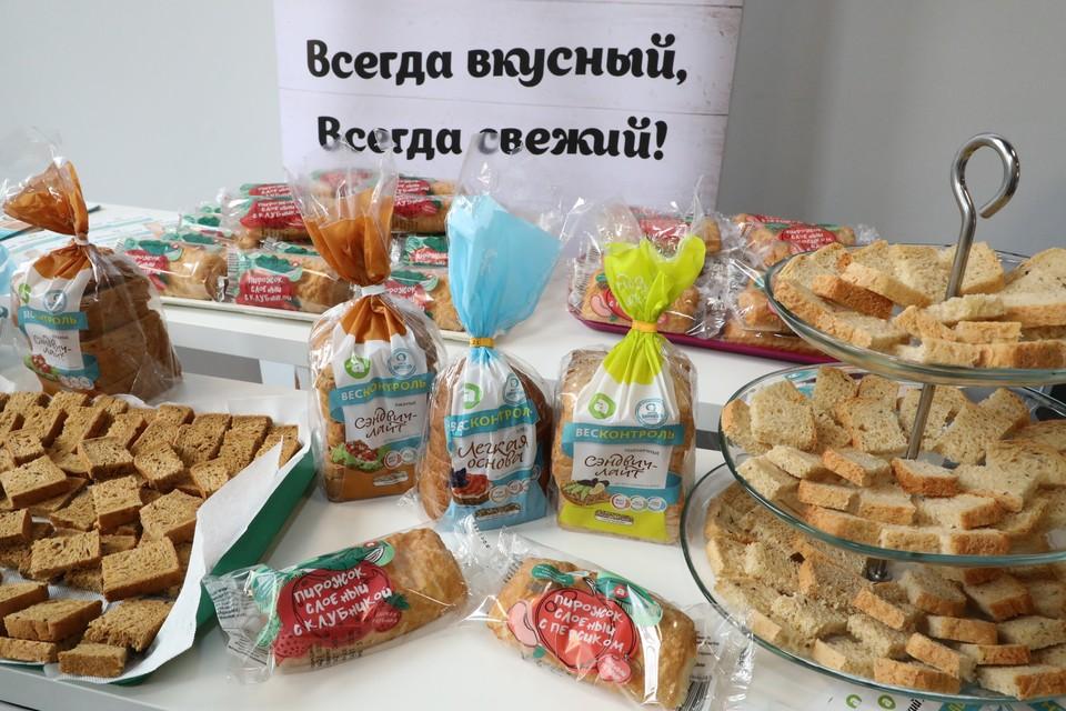 Нижегородские хлебопеки продают хлеб для снижения веса. Фото: Александр ВОЛОЖАНИН