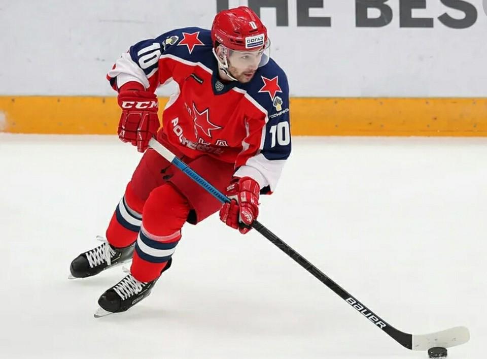 Сергей Толчинский признан самым ценным игроком. Фото: hawk. ru