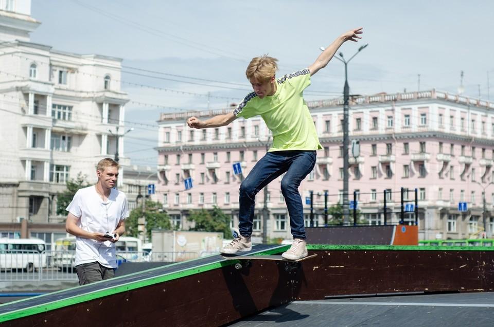 В скейт-парке молодежь будет тренироваться и соревноваться. Фото: Федерация скейтбординга Челябинской области.
