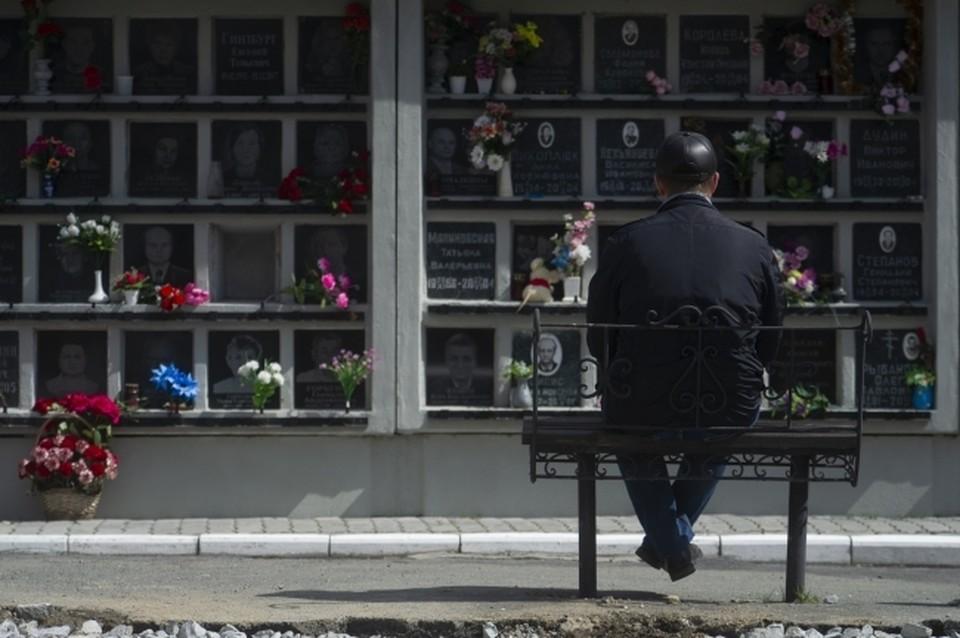 Кладбище также считается местом скопления людей, особенно в праздники