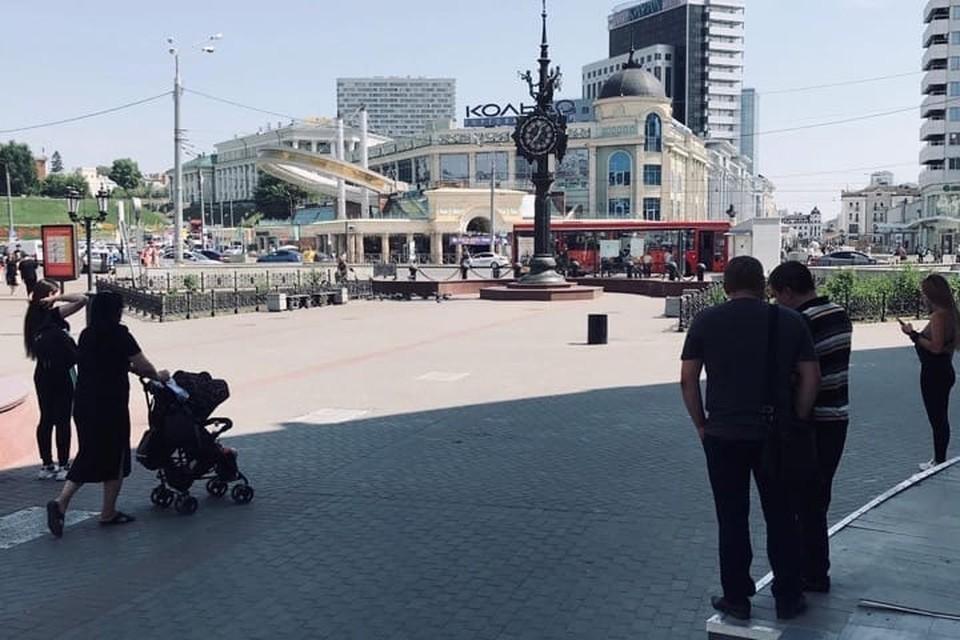 Центр Казани