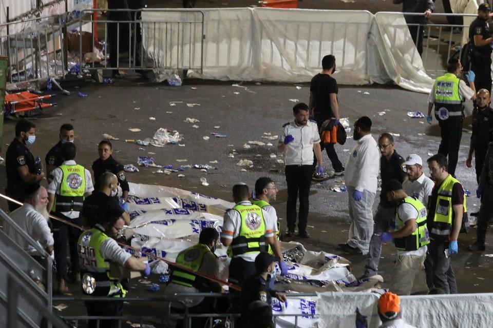 Премьер Израиля объявил траур после гибели людей на горе Мерон