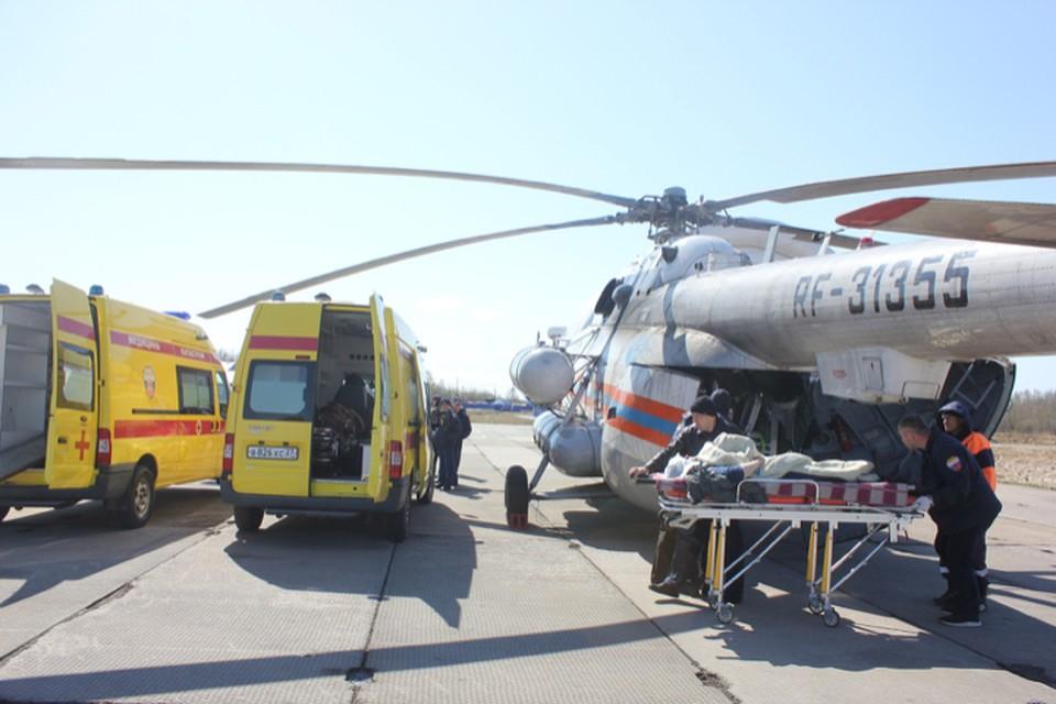 Троих доставили в Краевую клиническую больницу №2