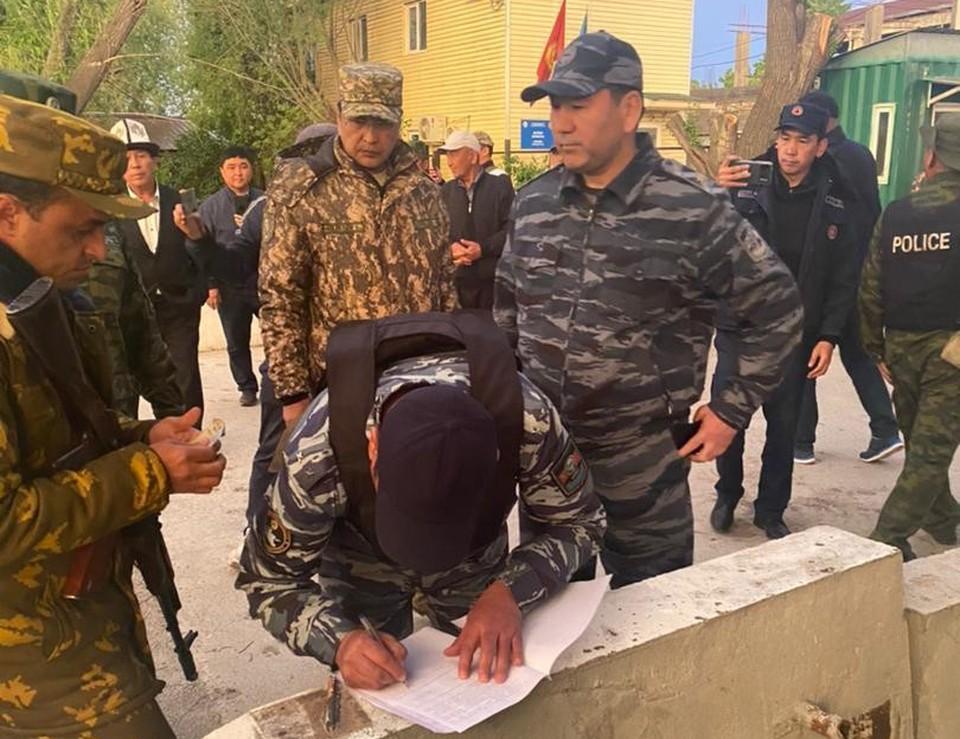 Освобождены кыргызстанские заложники.