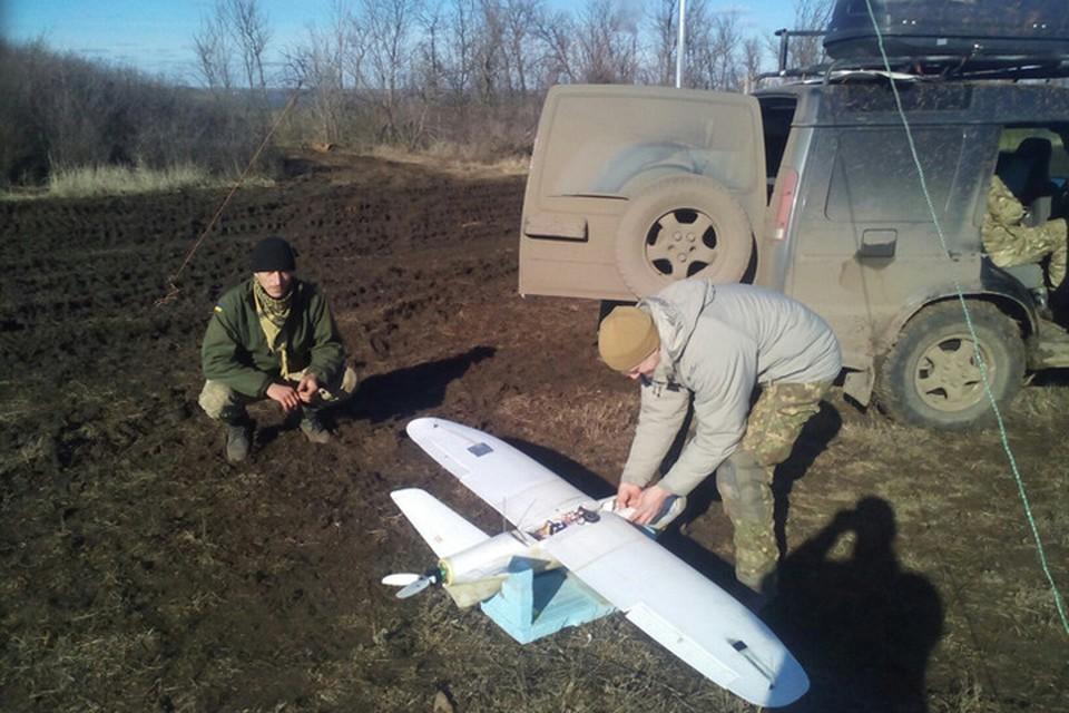 Украинские военные активно используют беспилотники для нанесения ударов по ДНР. Фото: МОУ