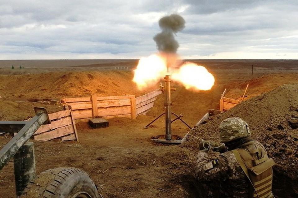 ВСУ по Донецку и Горловке выпустили 50 мин. Фото: Пресс-центр штаба ООС