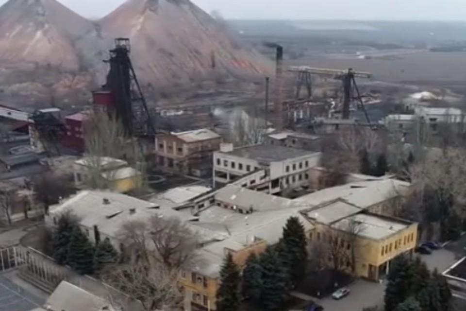 Шахта «1-3 Новогродовская» считается одной из лучших в регионе по добыче угля. Фото: Скриншот видео ТК «Орбита»