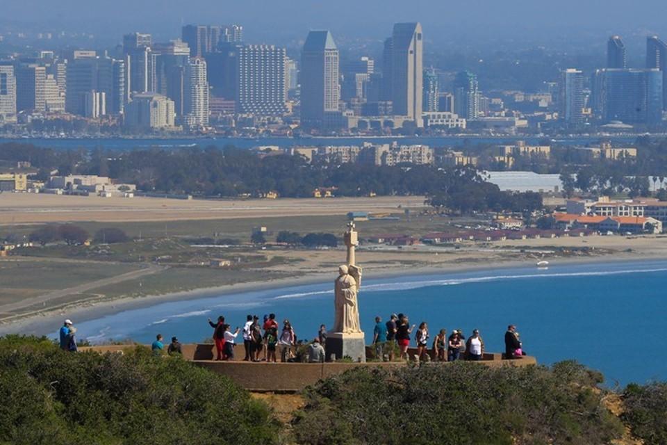 Национальный монумент Кабрильо в Сан-Диего