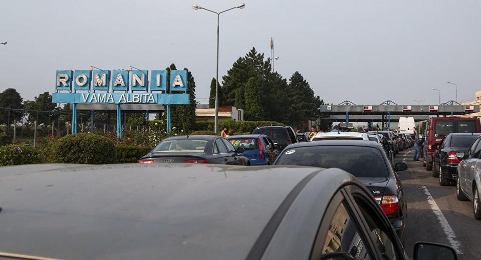 На границе Молдовы и Румынии самое большое оживление.