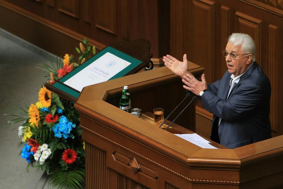 Леонид Кравчук выдвинул ультиматум по переговорам о Донбассе