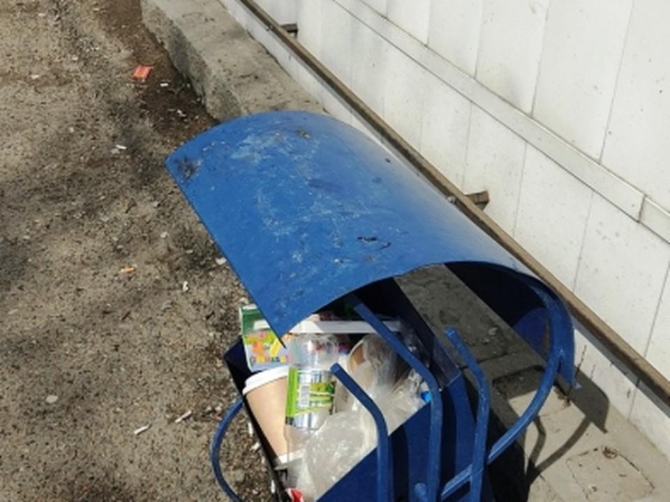 За мусорную урну асиновец в пункте приема получил всего 150 рублей.