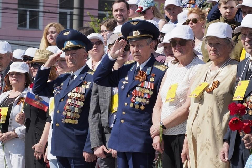 В День Победы на параде будут присутствовать ветераны Великой Отечественной