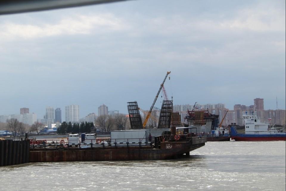 В Новосибирской области открыли навигацию на реке Обь. Фото: правительство НСО.