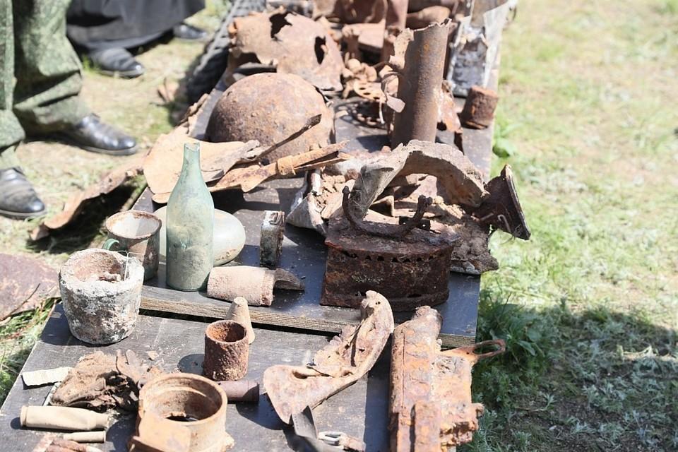 Трагедия произошла у поселка Самофаловка, где поисковики вели раскопки. Фото администрации ВО.