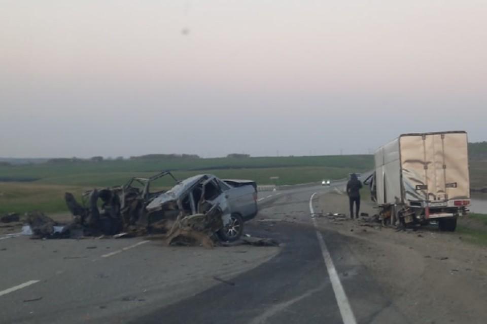 Авария на трассе. Фото: Александр Немченко