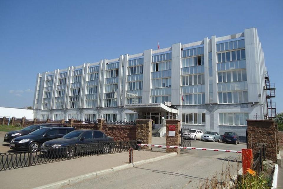 На фото: Арбитражный суд Башкирии