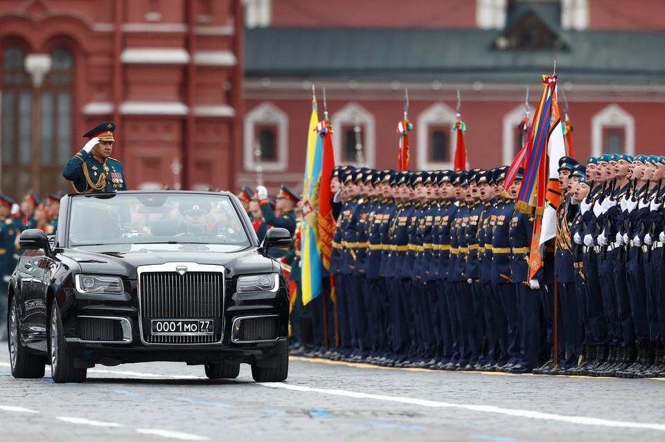 В Москве состоялся парад Победы на Красной площади