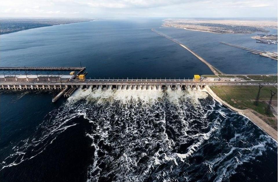 Фото с сайта Волжской ГЭС.