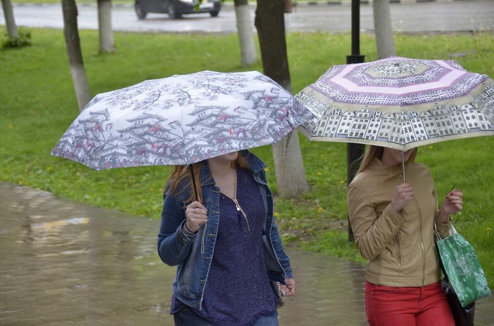 Местами пройде небольшой дождь.