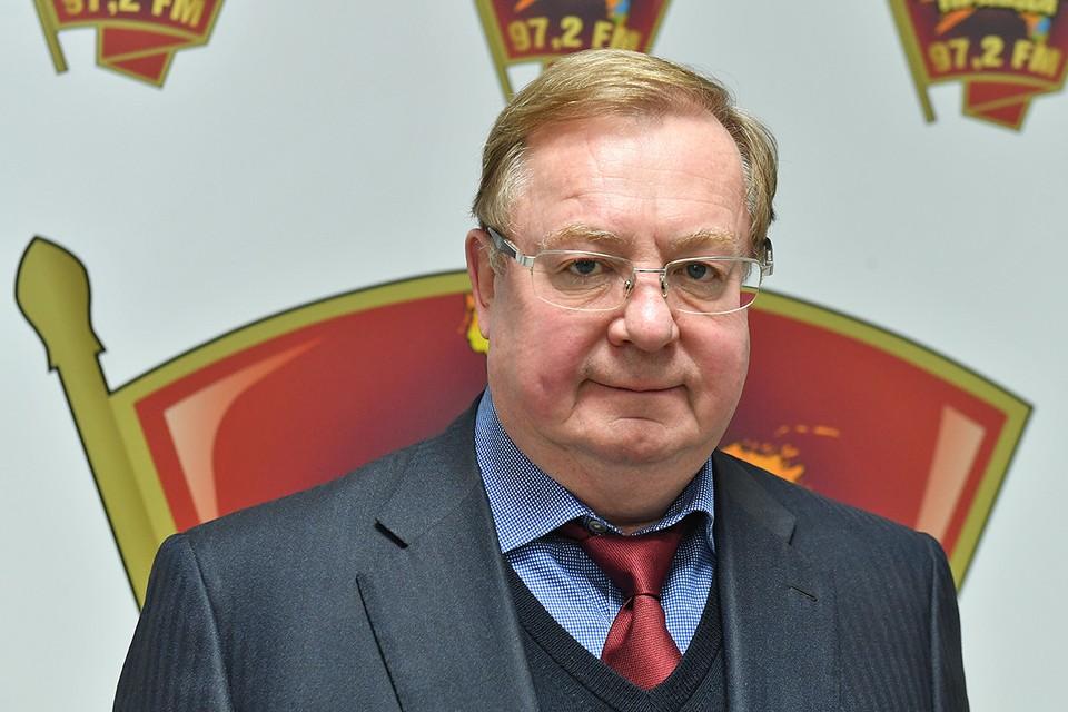 Член Совета директоров ФК «Динамо» Сергей Степашин.