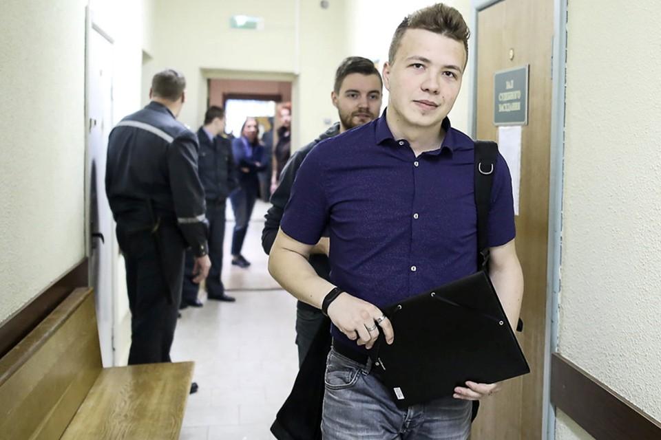 Оппозиционный блогер и активист, основатель телеграм-канала Nexta Роман Протасевич