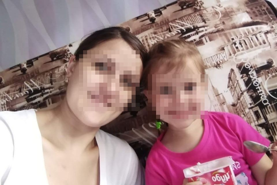 Сибирячка не видела дочку полгода. Фото: личный архив.