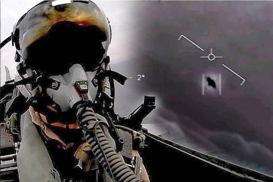 Как выяснилось, пилоты ВВС США сотни раз встречались со стремительными объектами неизвестной природы.