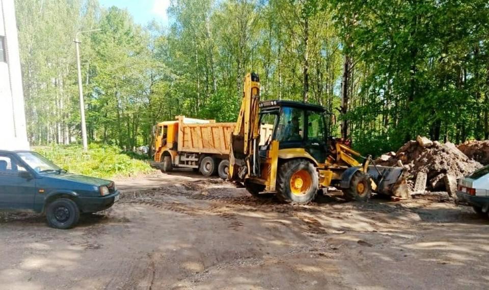 Восемь дворов отремонтируют в 2021 году в Смоленске. Фото: администрация г. Смоленска.