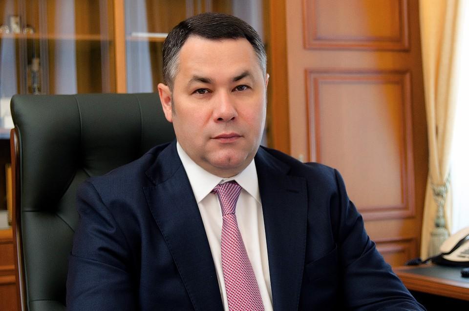 Глава региона поздравил тверских пограничников в профессиональным праздником. Фото: ПТО