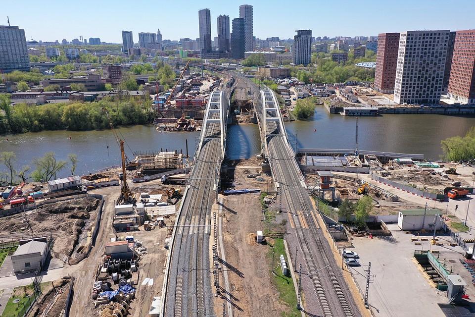 Движение поездов на МЦД-4 планируют запустить в 2023 году