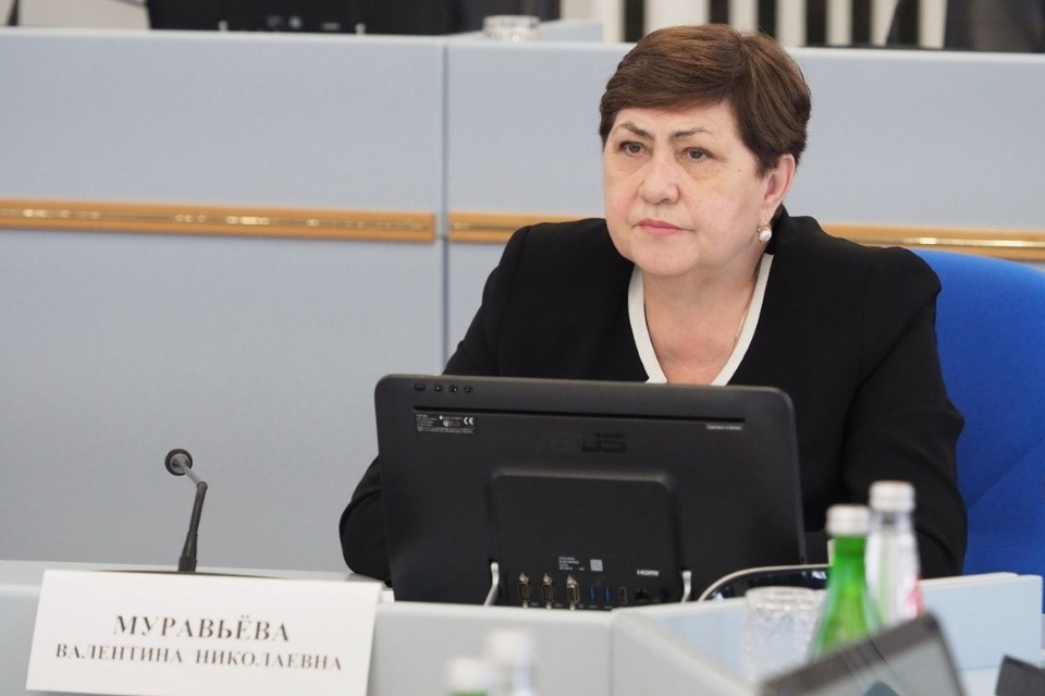 Председатель комитета по социальной политике и здравоохранению Думы Ставропольского края Валентина Муравьева