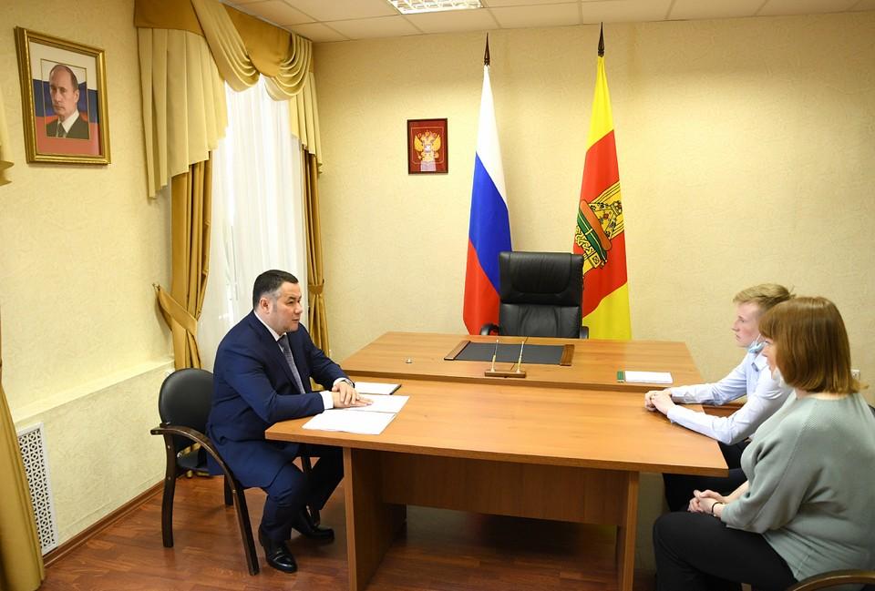 Игорь Руденя выслушал предложения и просьбы горожан Фото: ПТО