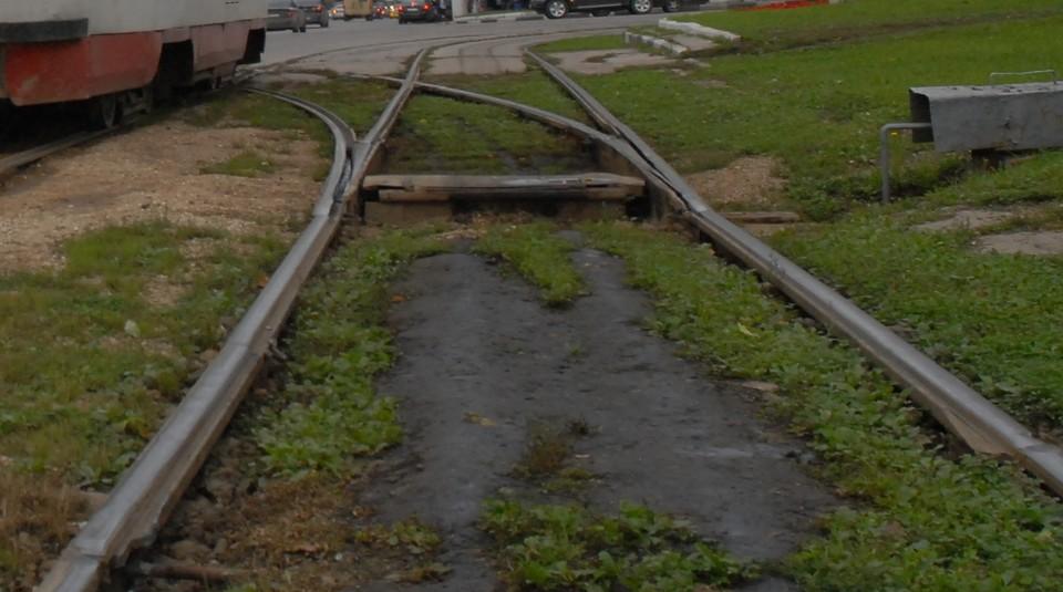 В Туле рельсы на ул. Ф. Энгельса стали разрушаться из-за температурных перепадов