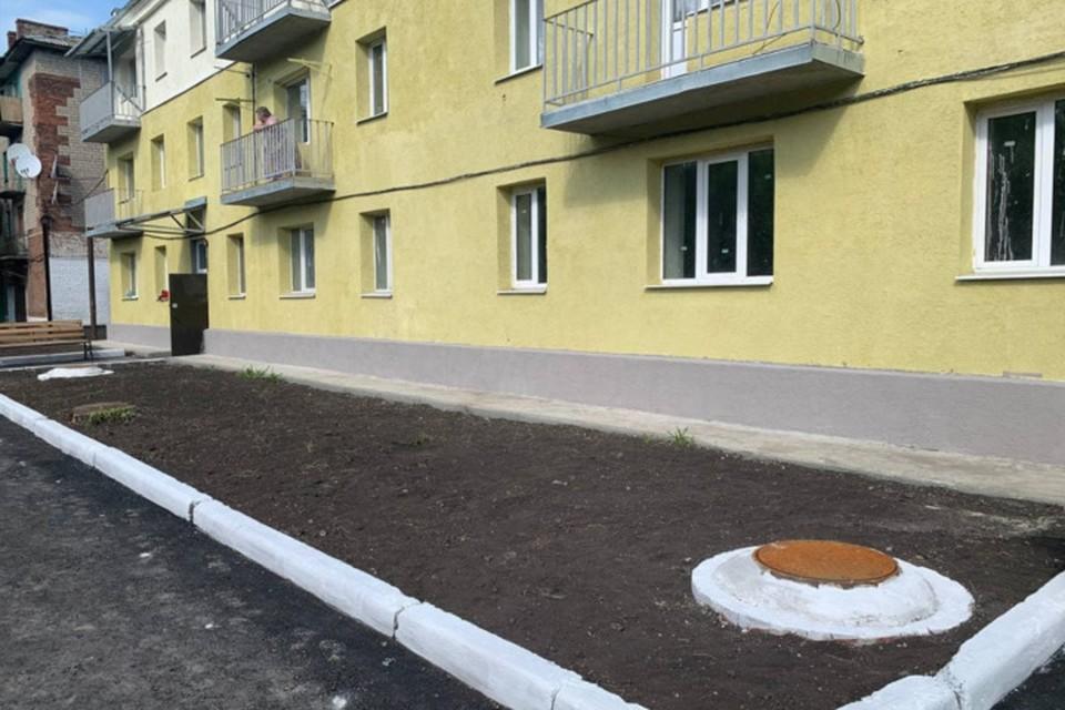 В Макеевке в Советском районе на совесть отремонтировали многоквартирный дом. Фото: Минстрой ДНР