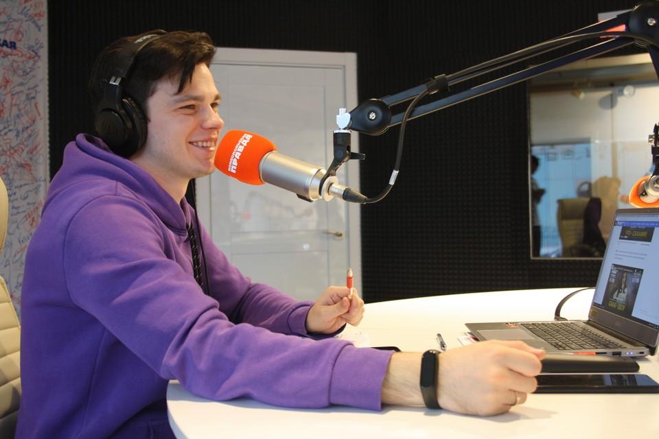 Радиоведущий Евгений Кузовков
