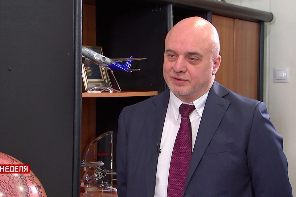 """Руководитель компании """"Белавиа"""" прокомментировал ситуацию с возможным сокращением штата в авиакомпании. Фото: СТВ."""