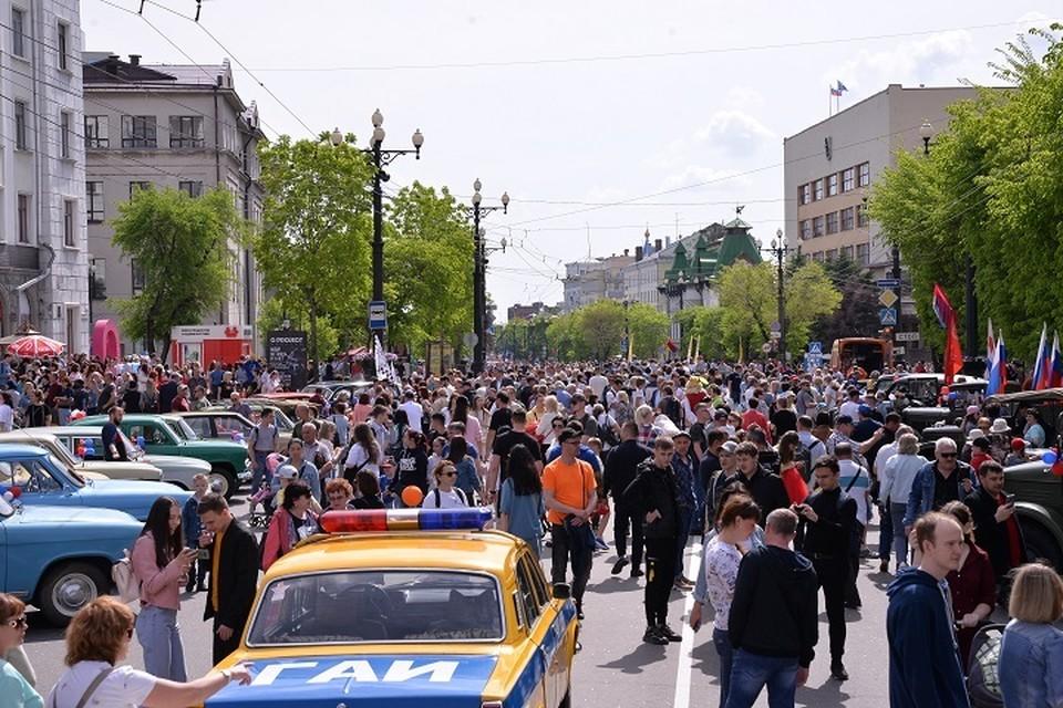 Фестиваль «Счастливый Хабаровск» завершился в краевой столице. Фото: Андрей Малахов.