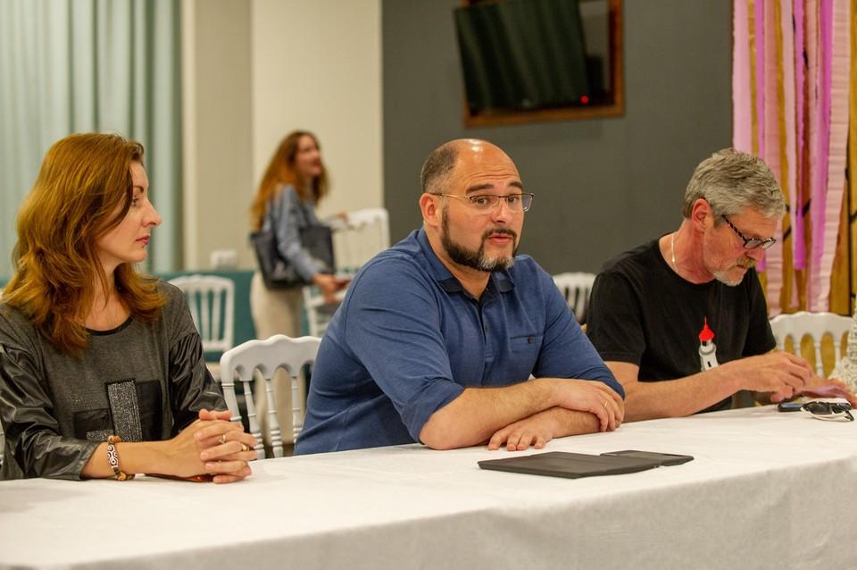 Глава Владивостока встретился с редакторами приморских СМИ