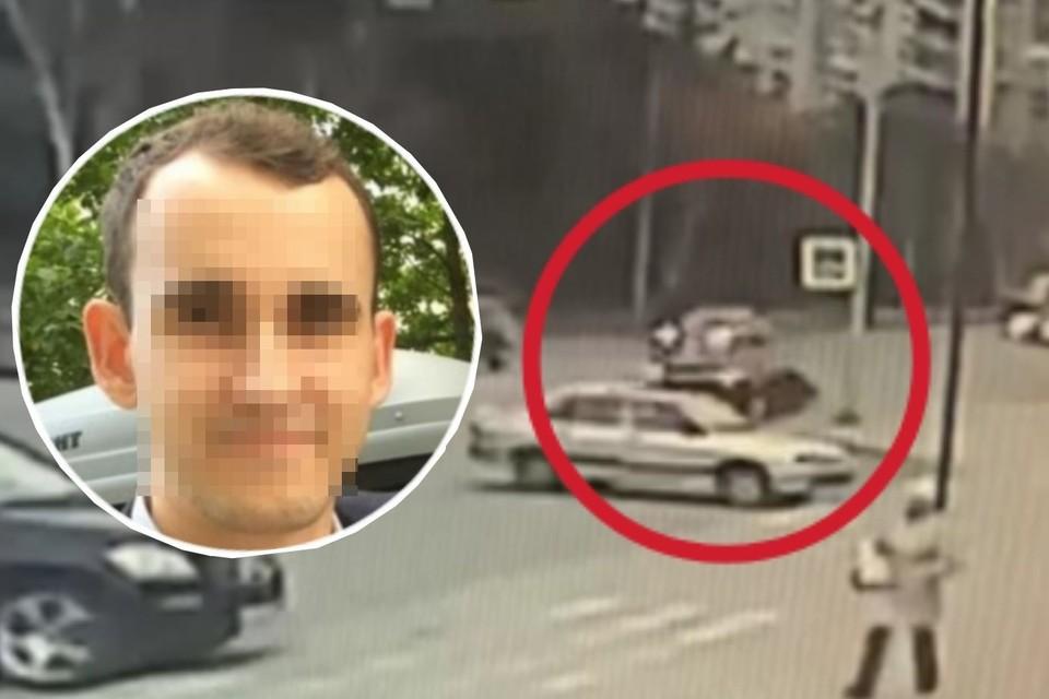 Иномарка сбила студента на пешеходном переходе. Фото: скриншот из видео/предоставлено Ильей