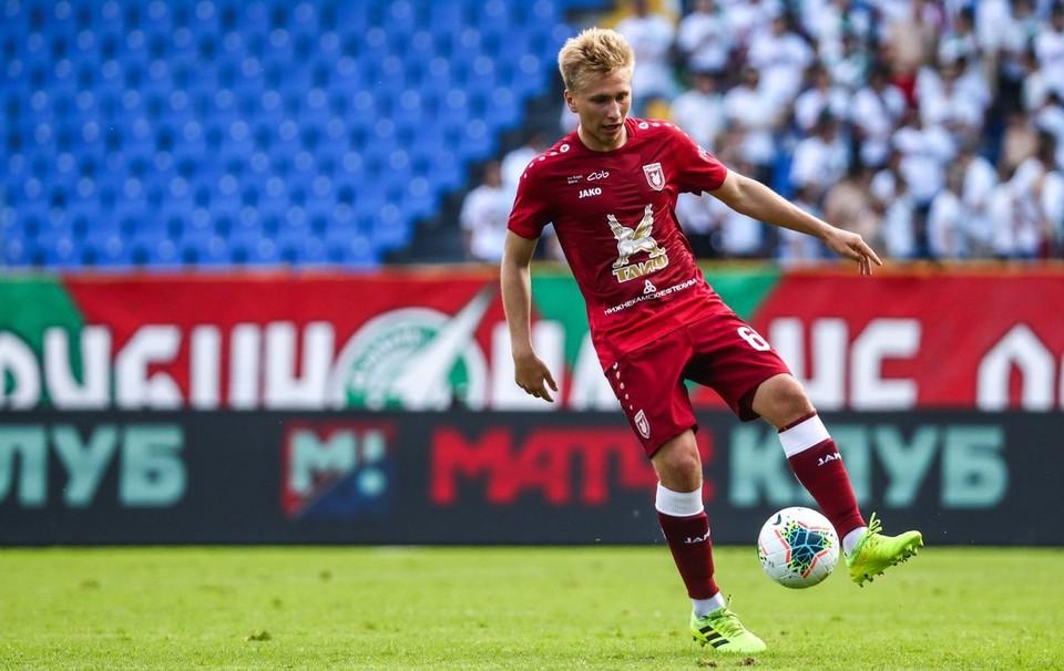 Данил Степанов из «Рубина» будет выступать за тульский «Арсенал»