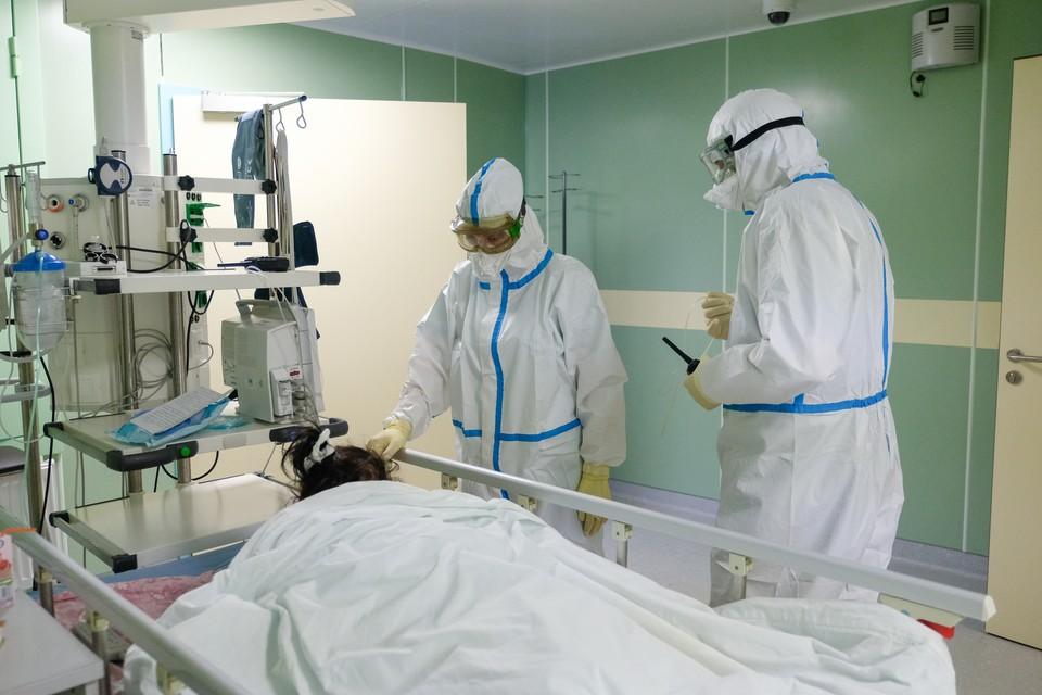 В Санкт-Петербурге отмечается рост заболеваемости коронавирусной инфекцией.