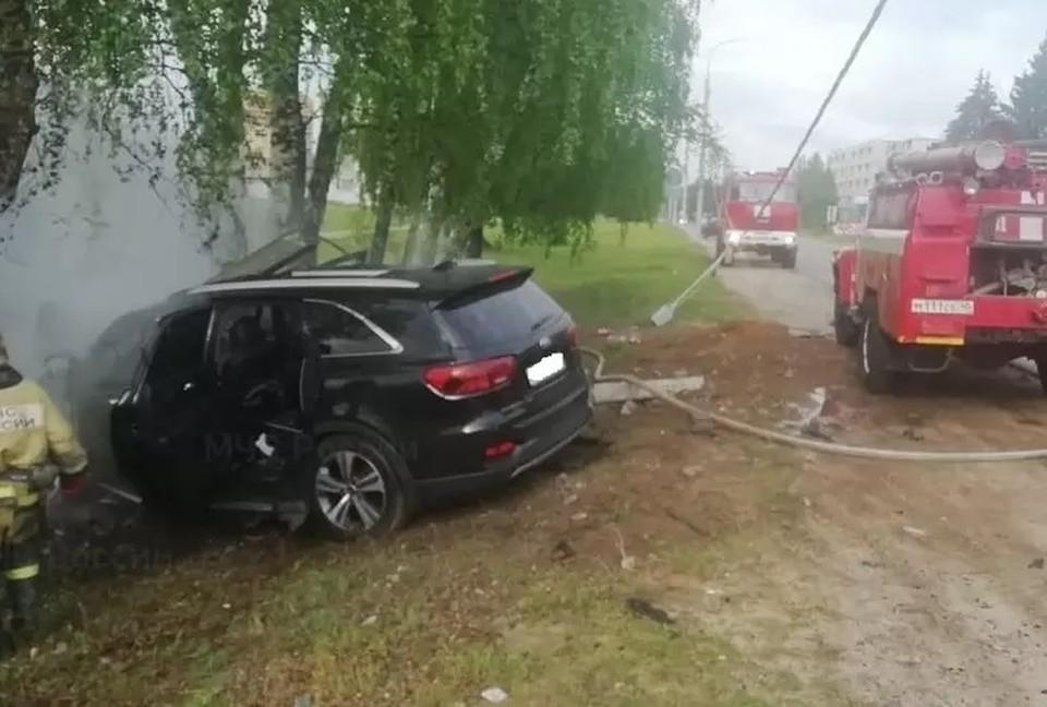 Авария произошла в Жуковском районе.
