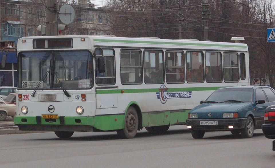 В работе тульских маршрутных автобусов нашли массу нарушений