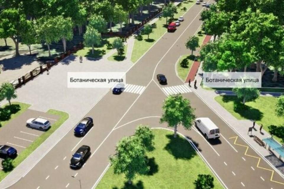 В Москве реконструируют участок Ботанической улицы. Фото: портал мэра и правительства Москвы