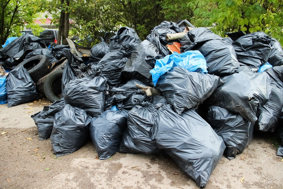 Жители Томска продолжают принимать активное участие в уборке городских улиц.