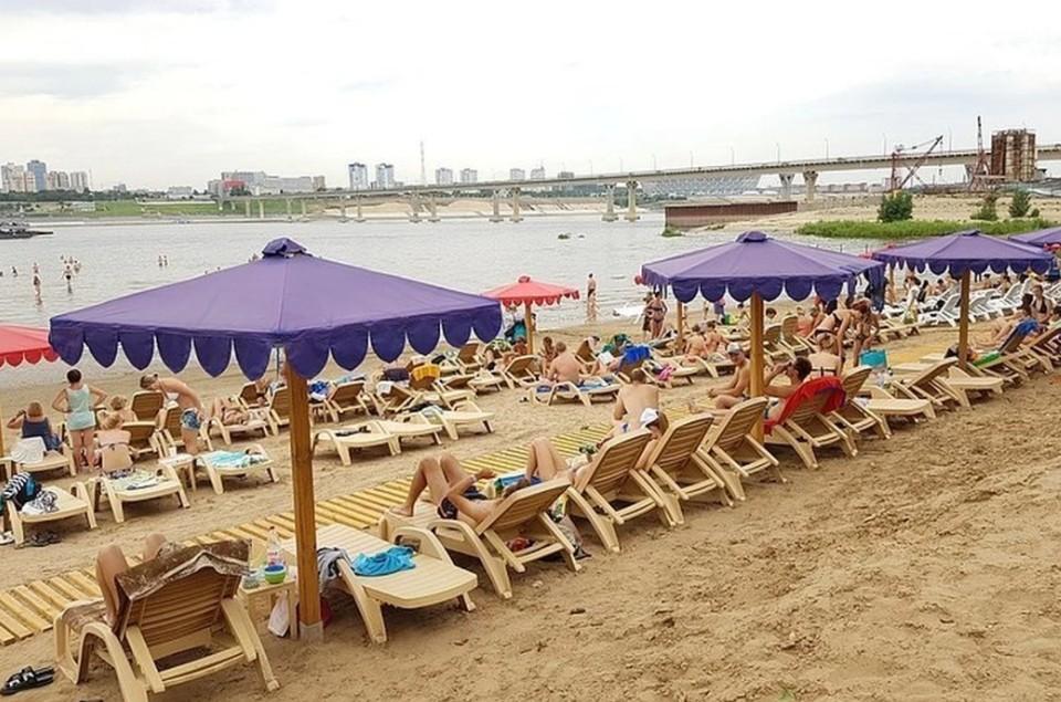 Пока неизвестно, когда в Волгограде стартует пляжный сезон-2021