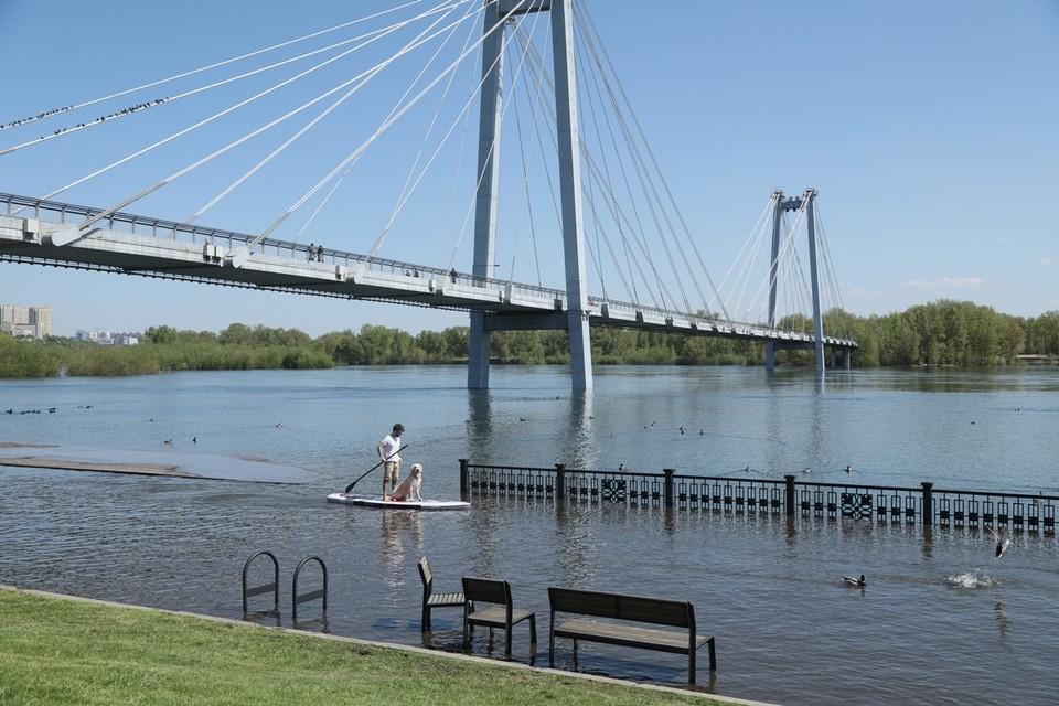 В Красноярске определили зоны возможного подтопления