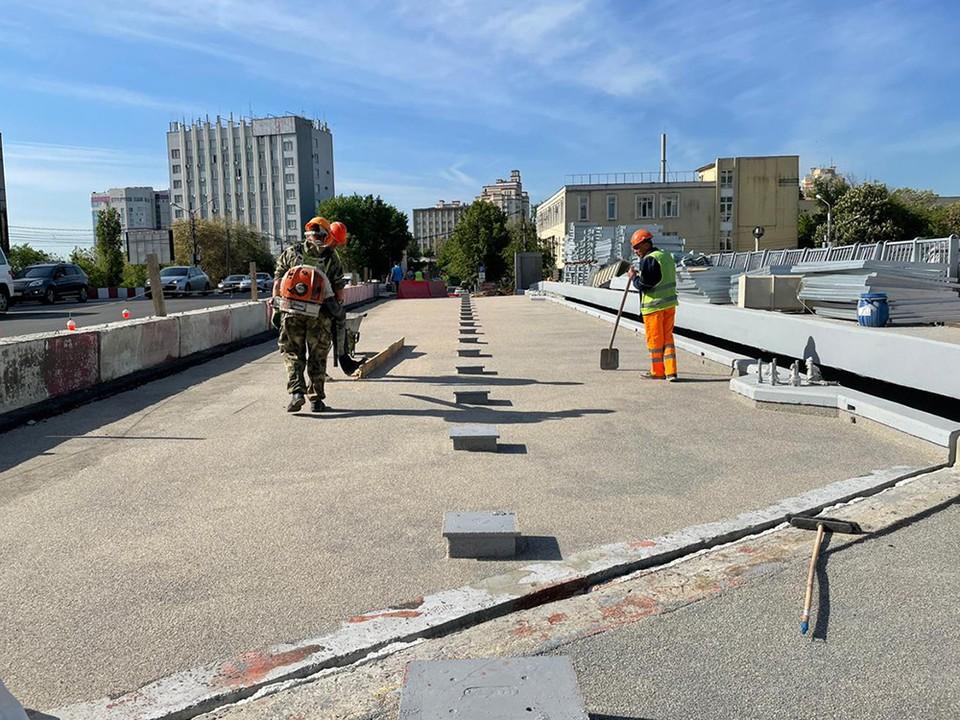 Хочется надеяться, что работы на мосту на улице Ленина подходят к концу.