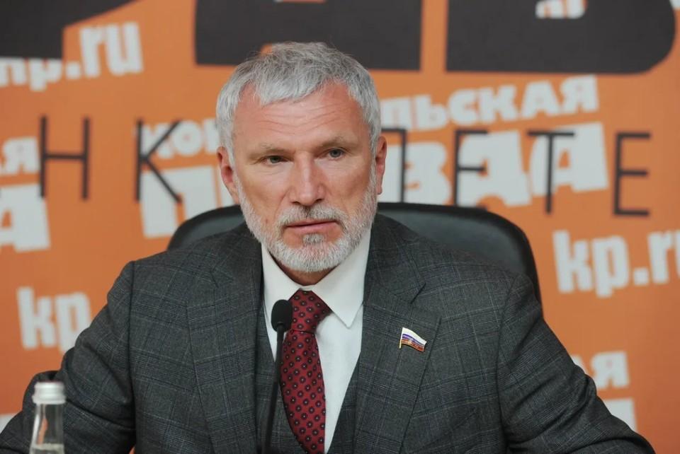 Депутат Государственной думы VI и VII созывов, председатель партии «Родина» Алексей Журавлев.