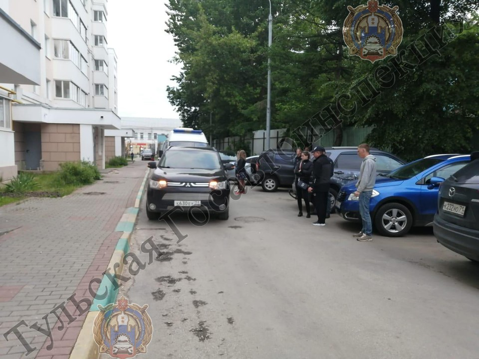 В центре Тулы, на улице Советской, сбили пятилетнего мальчишку